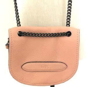 Authentic  Coach Small Shadow Crossbody in Adobe